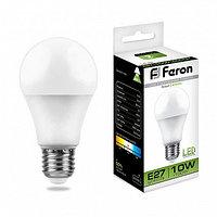 Лампа светодиодная LB-92 (10W) 230V E27 4000K A60