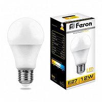 Лампа светодиодная LB-93 (12W) 230V E27 2700K A60