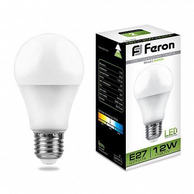 Лампа светодиодная LB-93 (12W) 230V E27 4000K A60