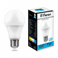 Лампа светодиодная LB-91 (7W) 230V E27 6400K A60