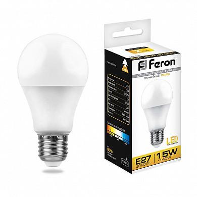 Лампа светодиодная LB-94 (15W) 230V E27 2700K A60