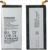 Заводской аккумулятор для Samsung Galaxy A5 SM-A500F (EB-BA500ABE, 2300mah)