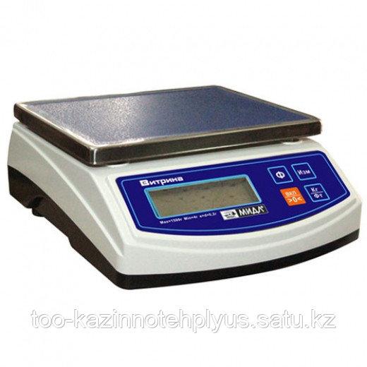 Фасовочные  весы «ВИТРИНА 6» МТ  3 кг В1ЖА (0.1;185х140) ВИТРИНА 6  ( ЖКИ )