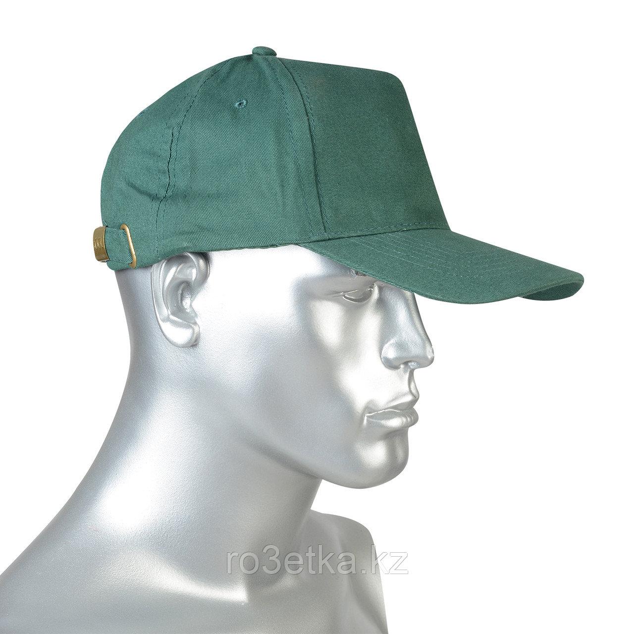 "Кепка -""бейсболка"" зелёная"