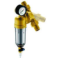 """Фильтр Гейзер Бастион 7508095233 с манометром для холодной воды 3/4"""""""