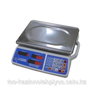 "Торговые весы МТ 6,15,30 кг. МДА (5/10; 230х330) ""Базар 3у"""