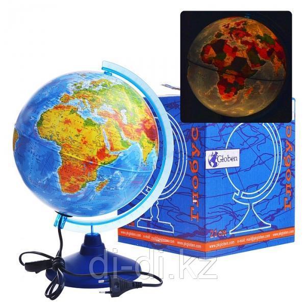 GLOBEN Глобус Физико-политический с подсветкой 250 Евро Ke022500191