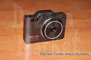Sho-Me Combo Smart Signature, видеорегистратор, радар-детектор, GPS, база камер