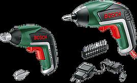 Аккумуляторная отвертка Bosch IXO V Family Set для отца и сына