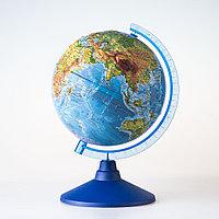 Глобус GLOBEN Физический рельефный 320 Евро, фото 1