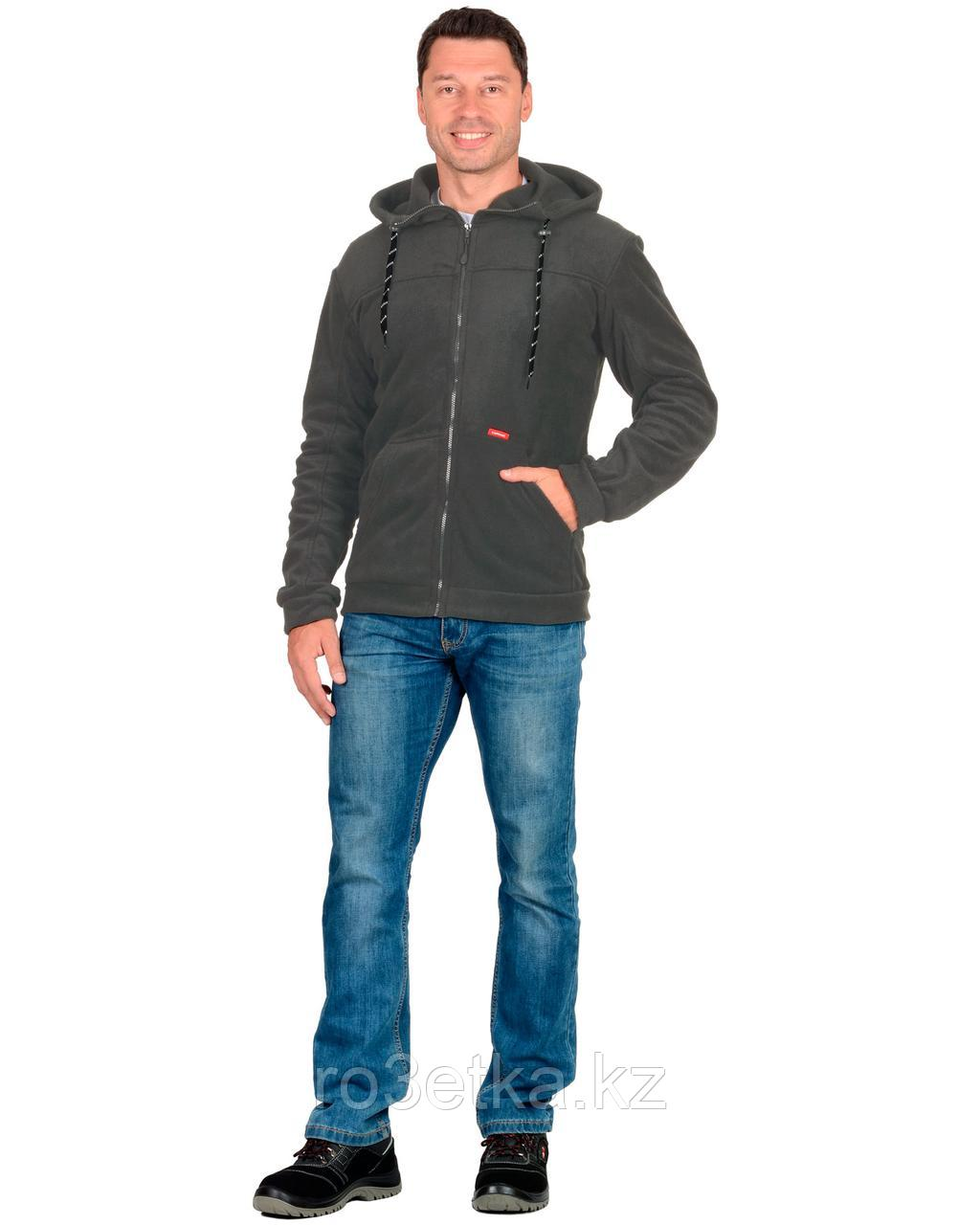 """Куртка флисовая """"Меркурий"""" цв. серый"""