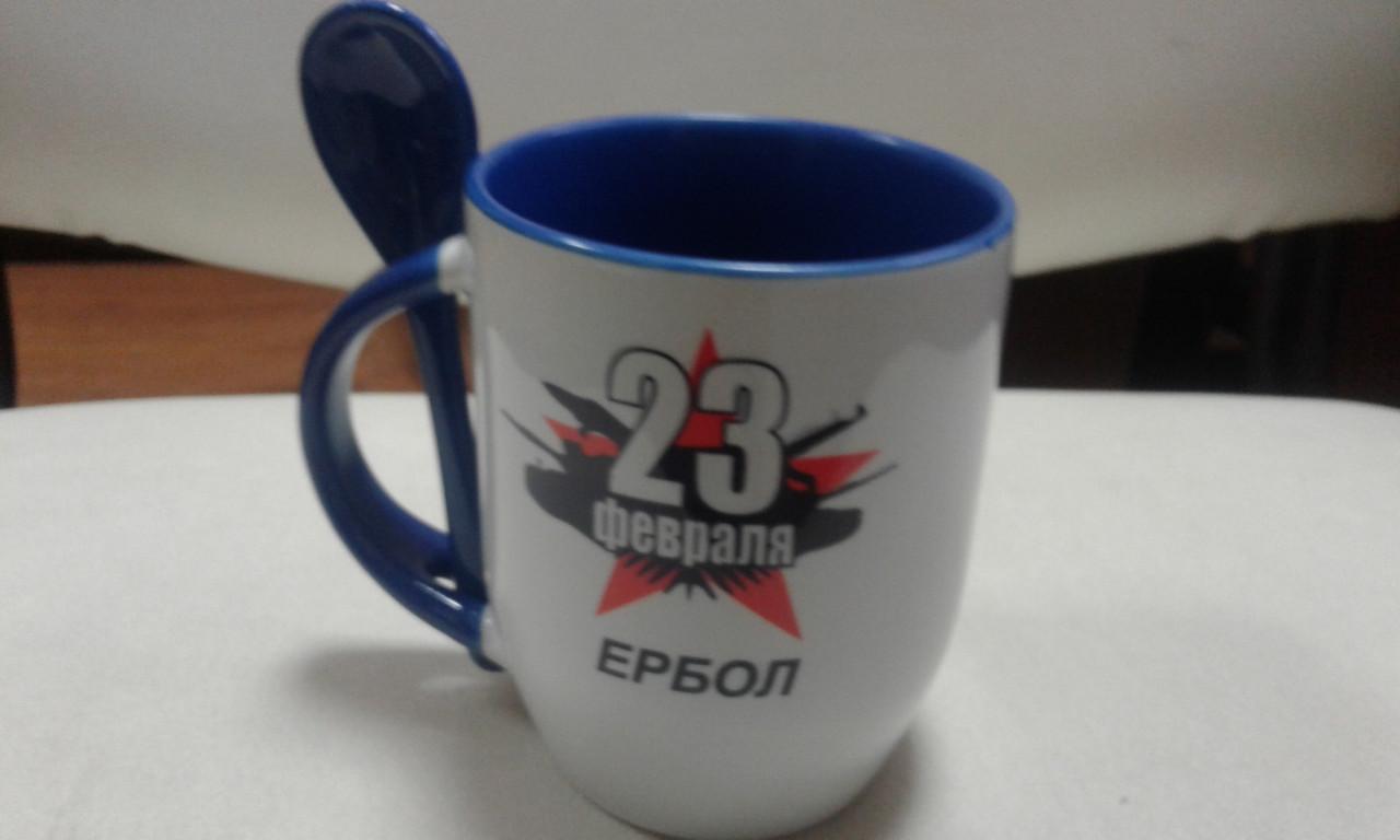 Фирменная кружка с логотипом