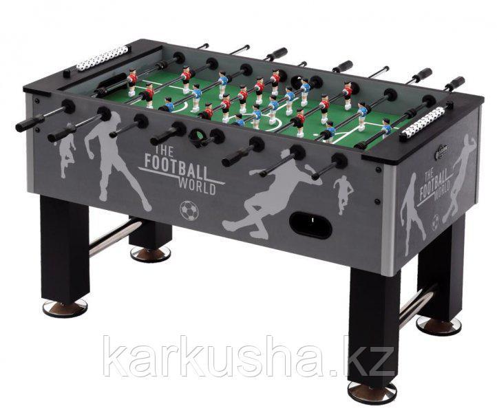 Настольный футбол (кикер) «Roma III» (140x76x87 см, серый)