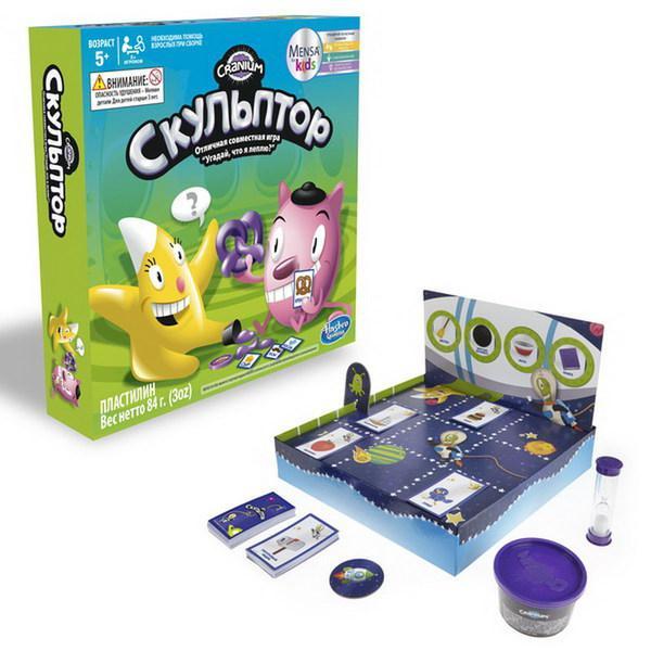 """Hasbro games Настольная игра """"Cranium: Скульптор"""""""