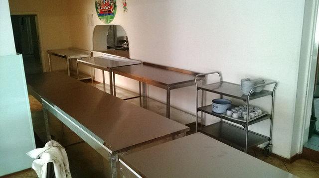 Детская психоневрологическая медицинская клиника, столы кухонные рабочие 59