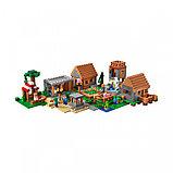 Конструктор Bela  Minecraft «деревня», фото 2