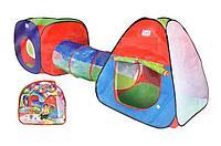 Детская палатка с тоннелем 999-148, фото 1