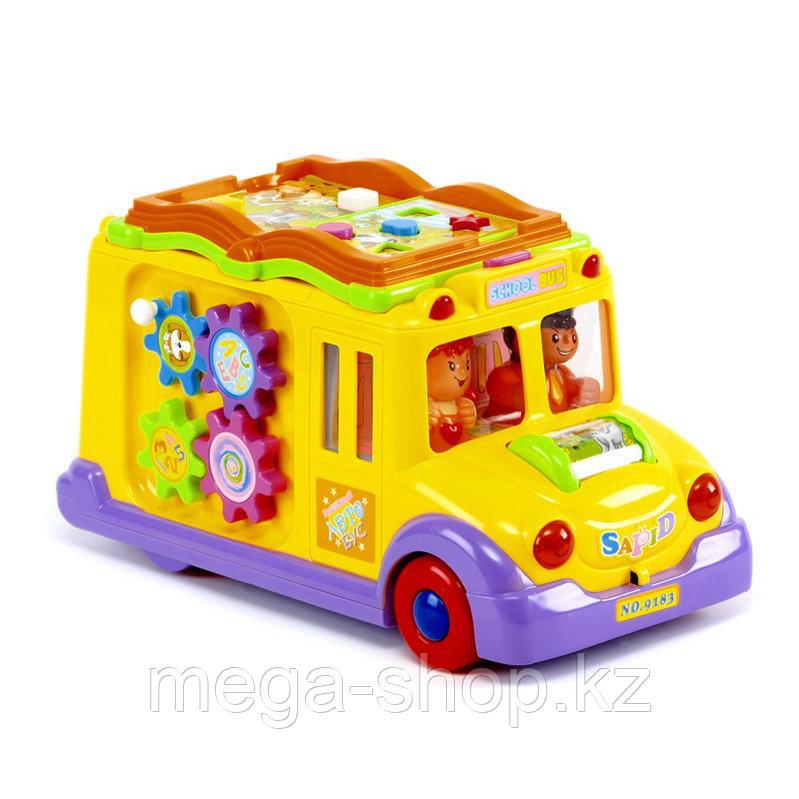 Развивающая игрушка «Забавный автобус»
