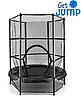 Батут с защитной сеткой 140 см от Get Jump