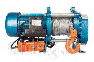 Лебедка электрическая KCD 1000 кг 100 метров  (380)