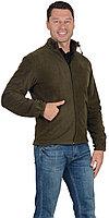 Куртка флисовая AG 260 г/кв.м. мужская оливковая