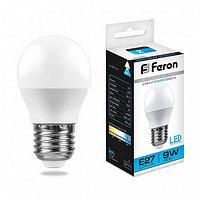 Лампа светодиодная LB-550 (9W) 230V E27 6400K G45