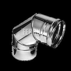 Колено Ferrum 430/0,5мм 90° Ф 120