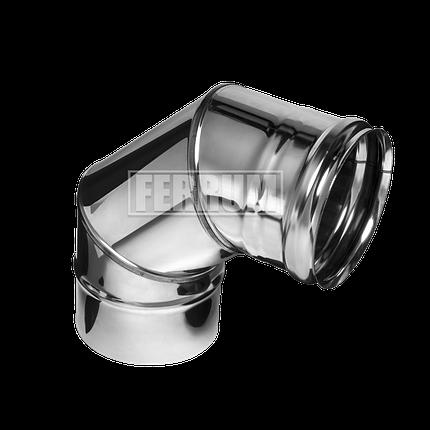 Колено Ferrum 430/0,5мм 90° Ф 120, фото 2