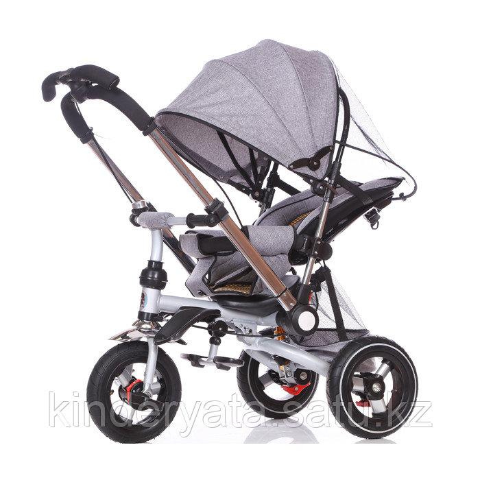 Детский трехколесный велосипед-коляска с перекидной ручкой TSTX010