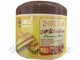 Маска для волос 24 каратное золото -Бэлисс