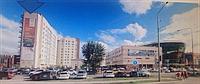 Наружная реклама на зданиях в Астане, фото 1