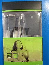 Конвертер VGA (M)-HDMI (F) 3.5mm с дополнительным питанием, Алматы