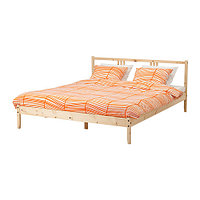 Кровать каркас ФЬЕЛЬСЕ сосна 140х200 Лурой ИКЕА, IKEA, фото 1