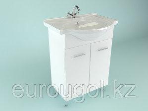 Тумба для ванной комнаты WaterWorld Стиль 500 мм. 2 двери