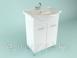 Тумба для ванной комнаты WaterWorld Стиль 650 мм. 2 двери