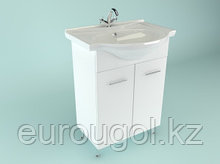 Тумба для ванной комнаты WaterWorld Стиль 550 мм. 2 двери