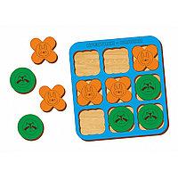 Логическая игра WOODLAND Крестики-нолики 2, фото 1