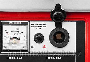 Бензиновый генератор с автозапуском, 5500 Вт, ЗУБР, фото 2