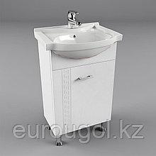 Тумба для ванной комнаты WaterWorld Троя 450 мм. 1 дверь