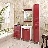 Шкаф - зеркало для ванной комнаты WaterWorld Троя 550 мм., фото 3