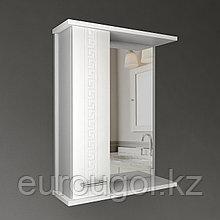 Шкаф - зеркало для ванной комнаты WaterWorld Троя 550 мм.