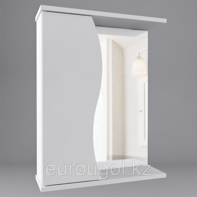 Зеркало для ванной комнаты WaterWorld Орхидея 600 мм.