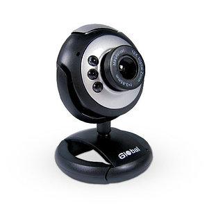 Веб-Камера Global A-9 Серебристо-Чёрный