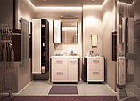 Тумба для ванной комнаты WaterWorld Оптима 800 мм, 1 дверь 2 ящика, фото 2