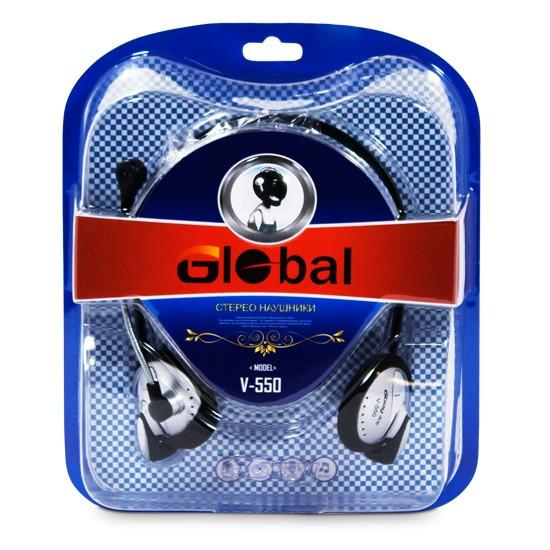 Наушники Global V-550 - фото 3