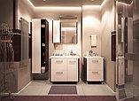 Шкаф - зеркало для ванной комнаты WaterWorld Оптима, фото 2