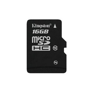 Карта памяти Kingston SDC10G2/16GBSP Class 10 16GB