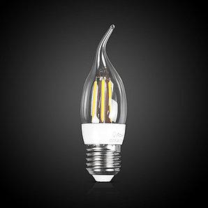 Светодиодная лампа iPower Filament C37-F-4W-2700-E27