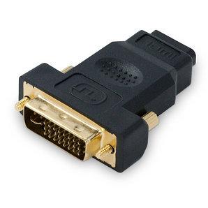 Переходник HDMI на DVI 24+5 SHIP SH6047-B Блистер