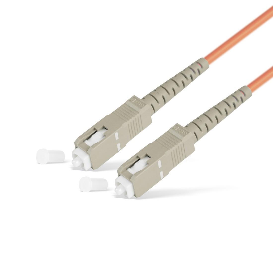 Патч Корд Оптоволоконный SC/UPC-SC/UPC MM OM2 50/125 Simplex 3.0мм 1 м